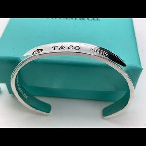 """Tiffany & Co.925 """" T & CO 1837 925"""" Bracelet"""